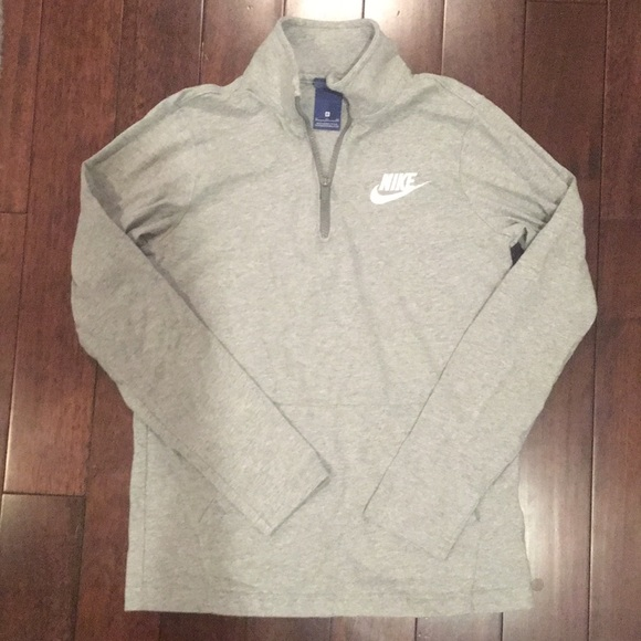 Nike Other - Boys Nike sz XL Gray 1/4 Zip